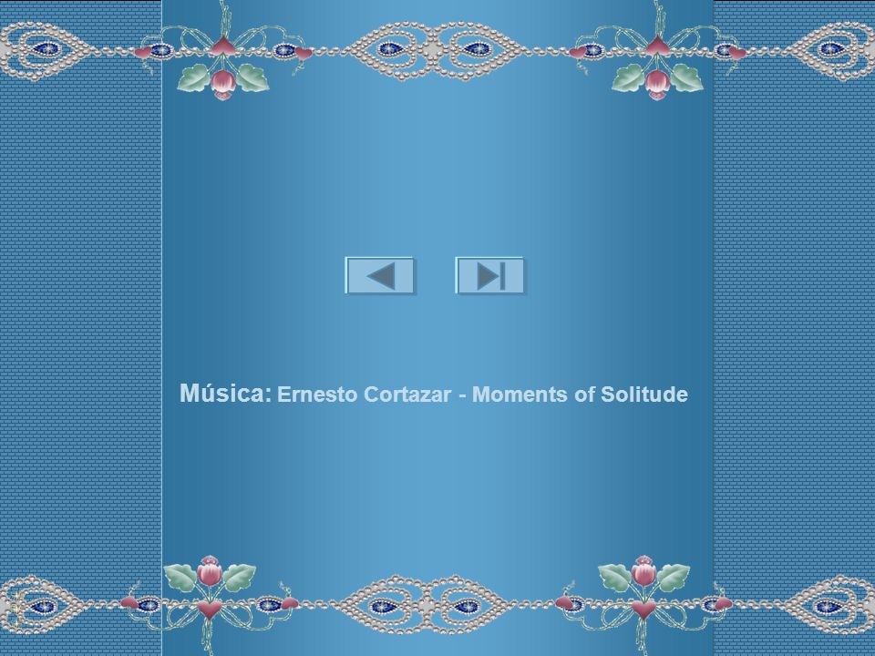 Música: Ernesto Cortazar - Moments of Solitude
