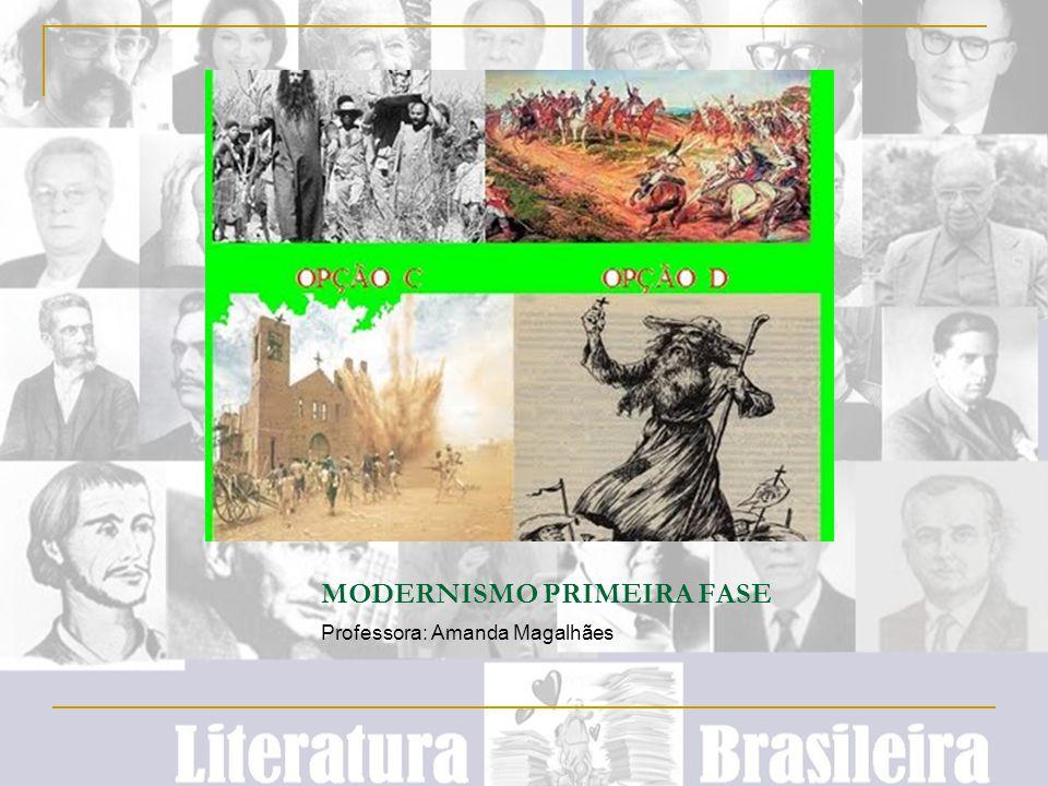 MODERNISMO PRIMEIRA FASE
