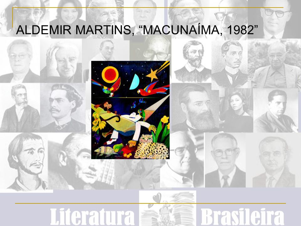 ALDEMIR MARTINS, MACUNAÍMA, 1982