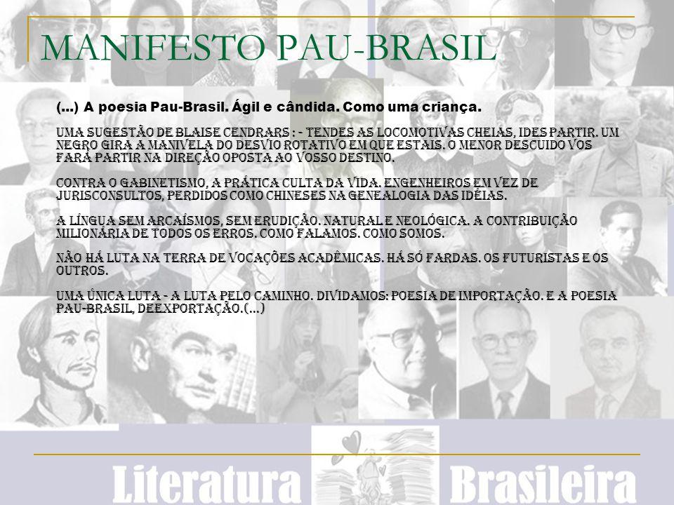 MANIFESTO PAU-BRASIL