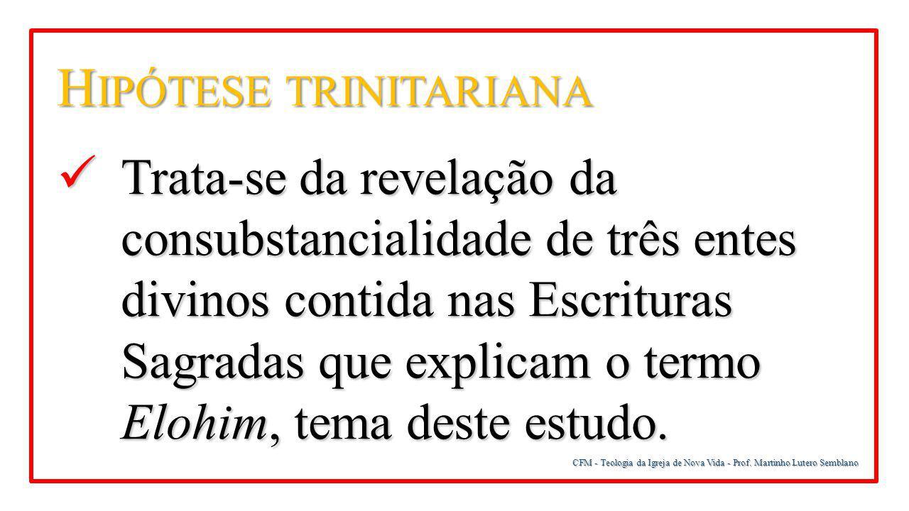 Hipótese trinitariana