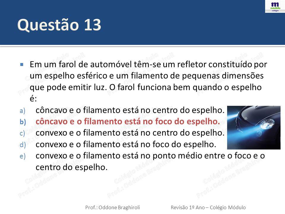 Questão 13