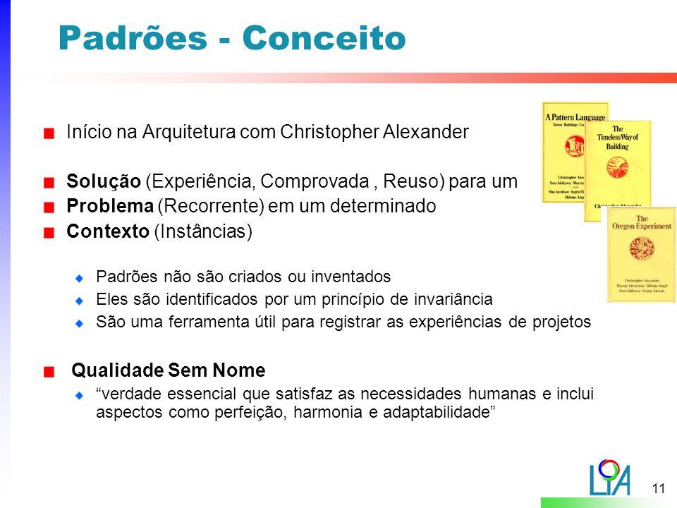 Padrões - Conceito Início na Arquitetura com Christopher Alexander