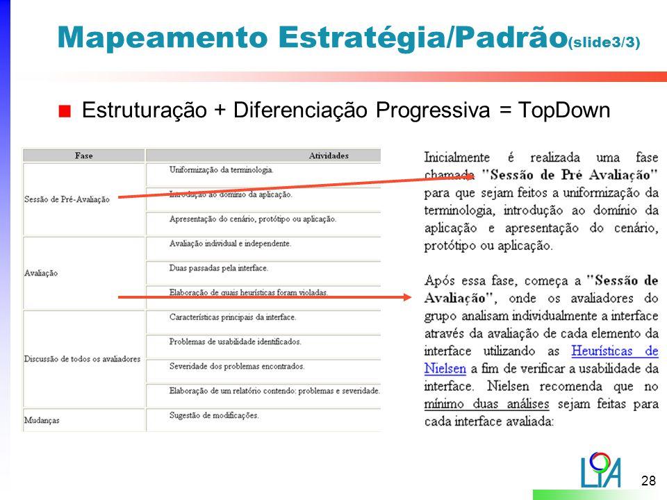 Mapeamento Estratégia/Padrão(slide3/3)