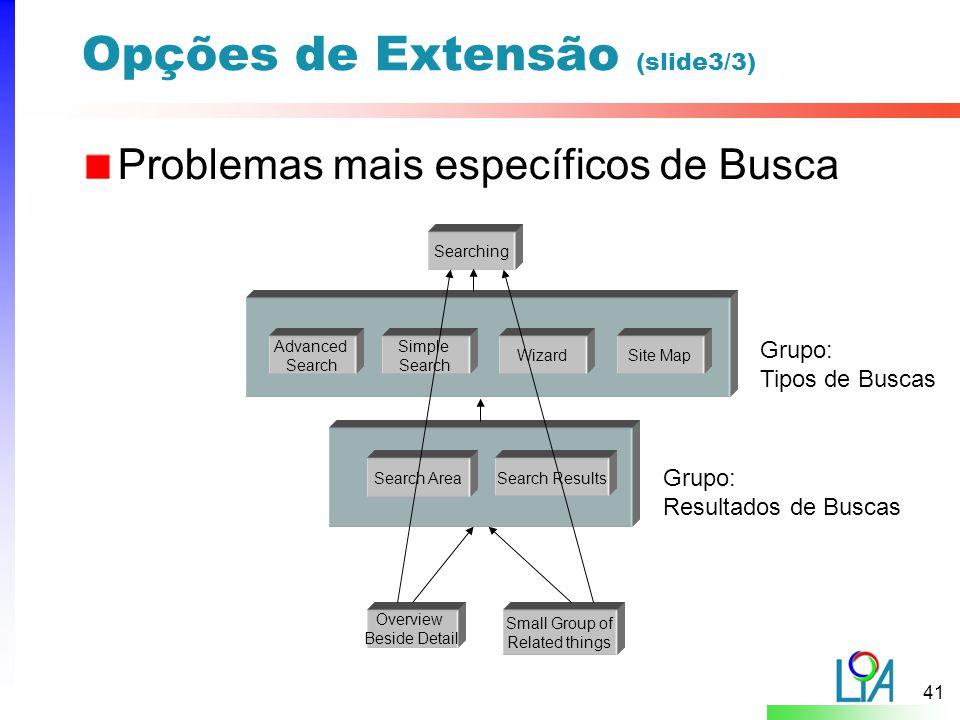 Opções de Extensão (slide3/3)