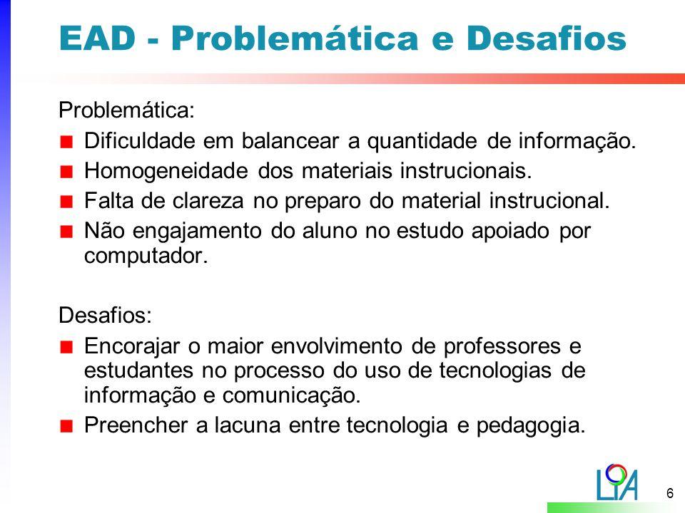 EAD - Problemática e Desafios