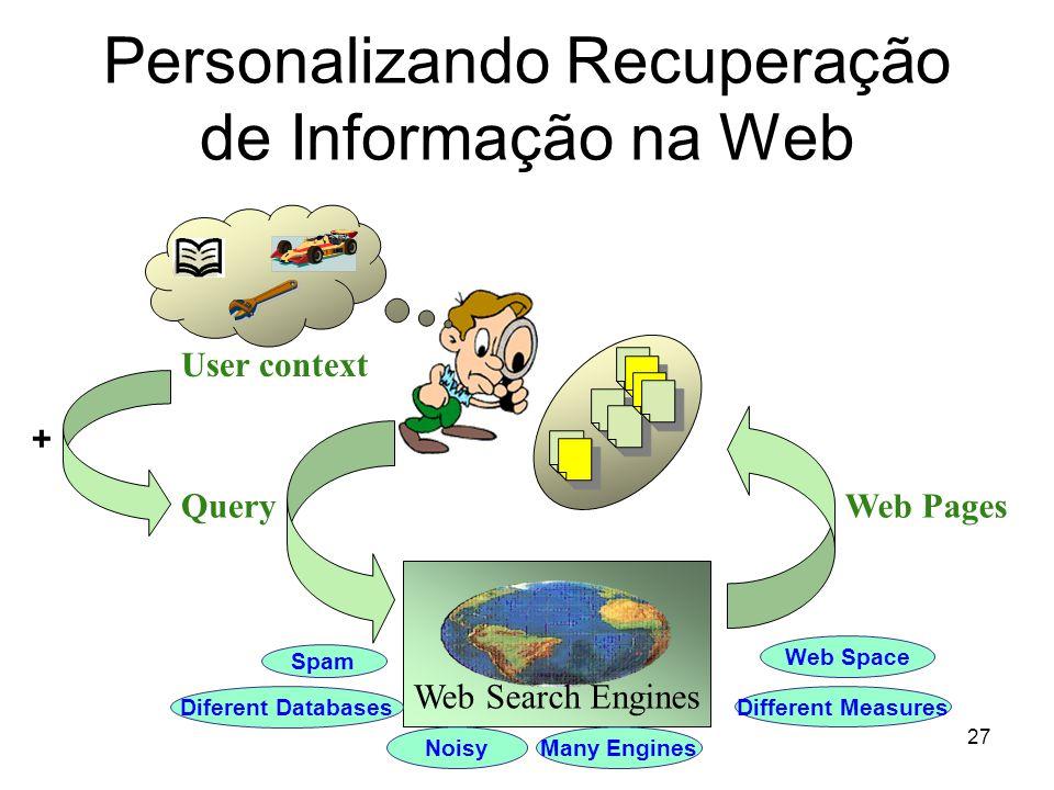 Personalizando Recuperação de Informação na Web