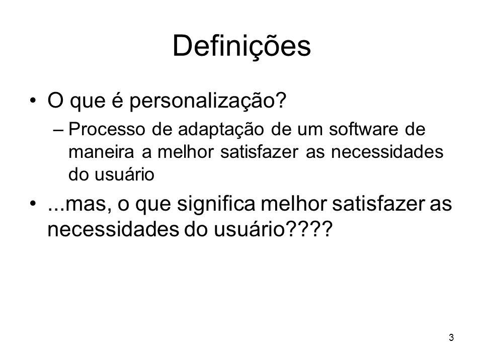 Definições O que é personalização