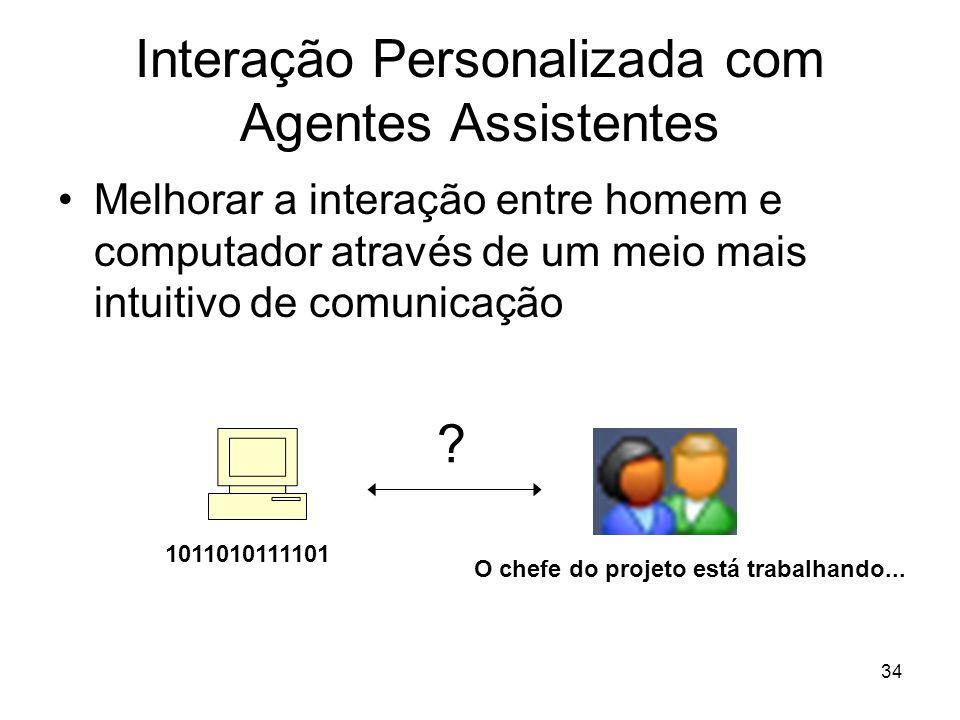 Interação Personalizada com Agentes Assistentes