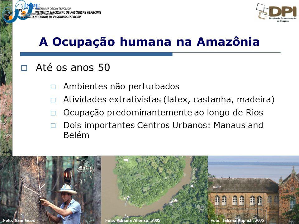 A Ocupação humana na Amazônia