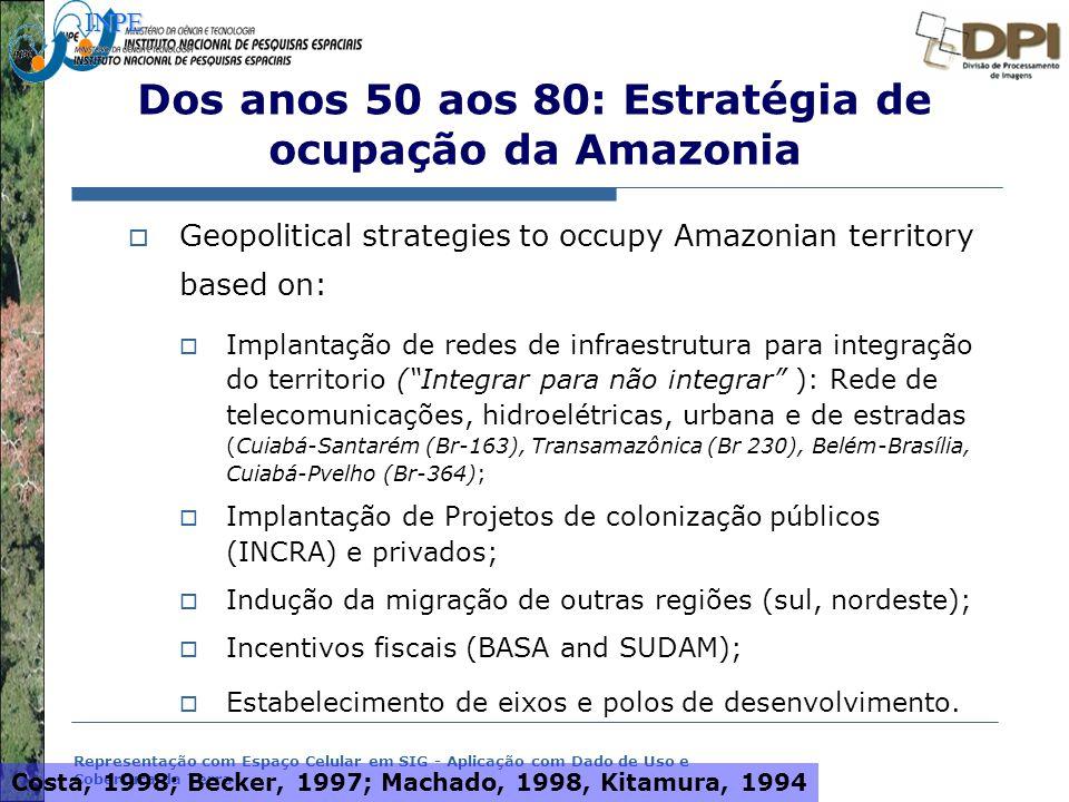 Dos anos 50 aos 80: Estratégia de ocupação da Amazonia