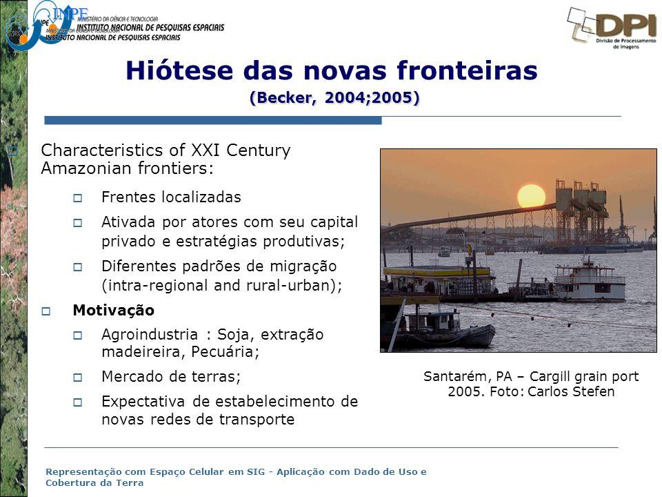 Hiótese das novas fronteiras (Becker, 2004;2005)