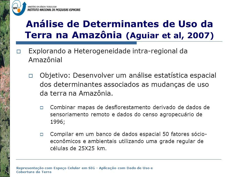 Análise de Determinantes de Uso da Terra na Amazônia (Aguiar et al, 2007)