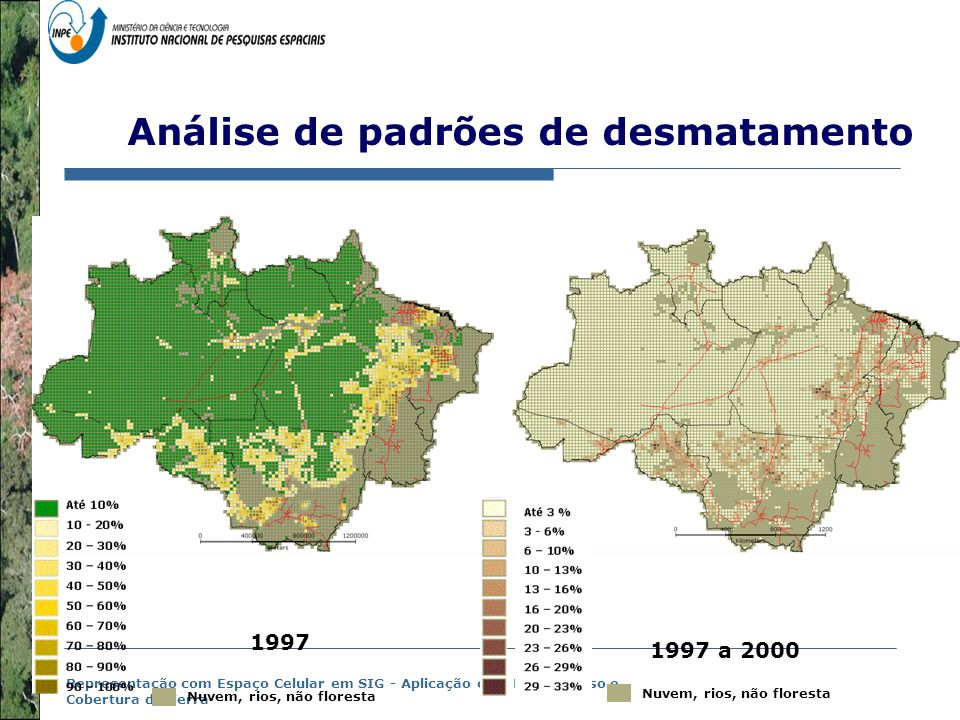 Análise de padrões de desmatamento