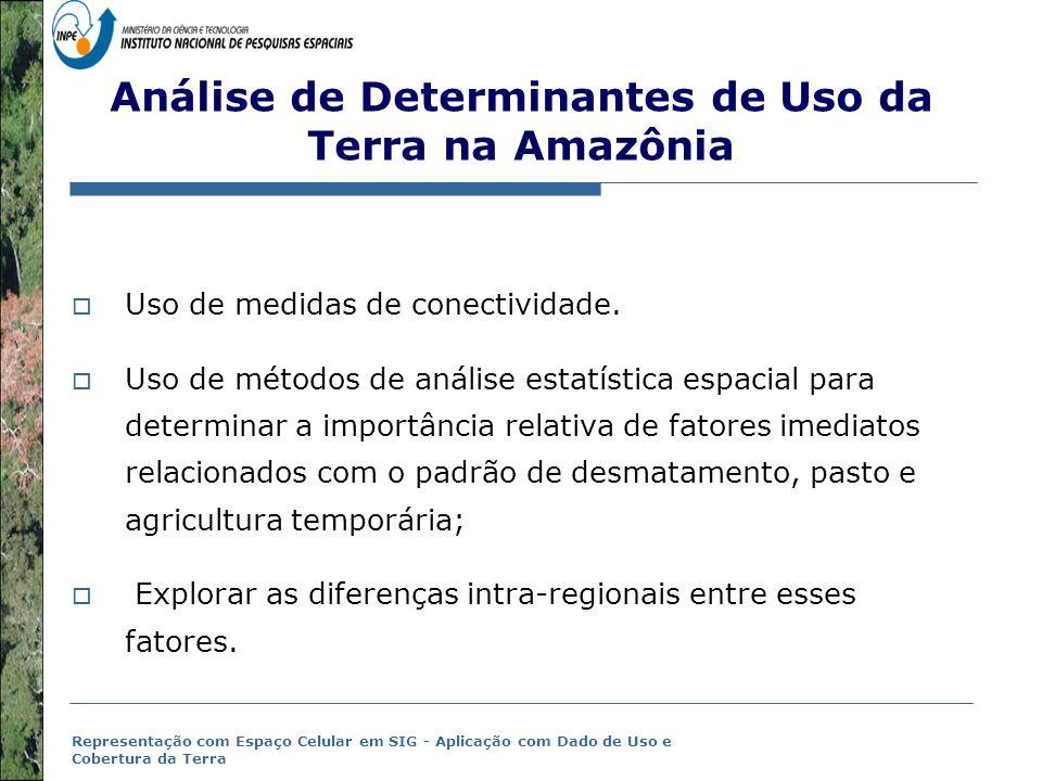 Análise de Determinantes de Uso da Terra na Amazônia