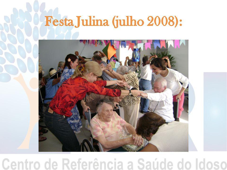 Festa Julina (julho 2008):