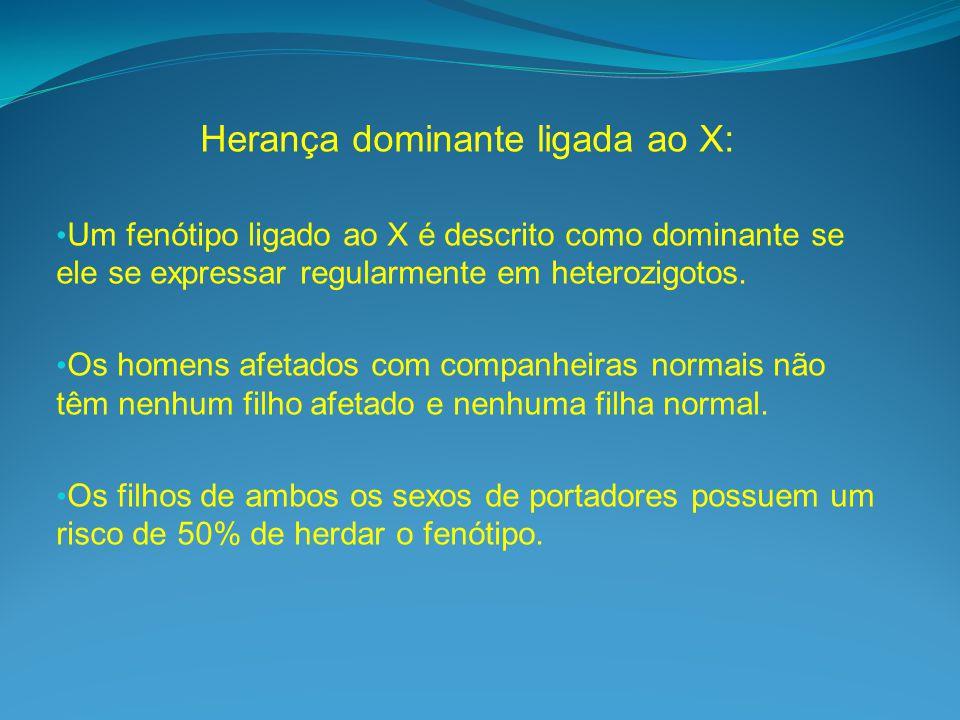 Herança dominante ligada ao X: