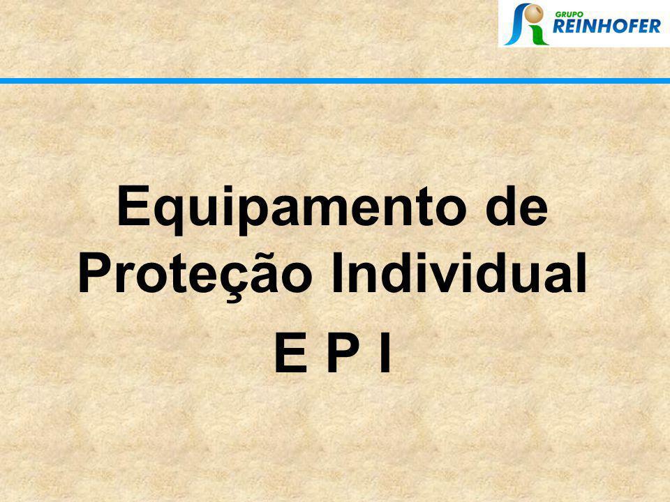 Equipamento de Proteção Individual E P I