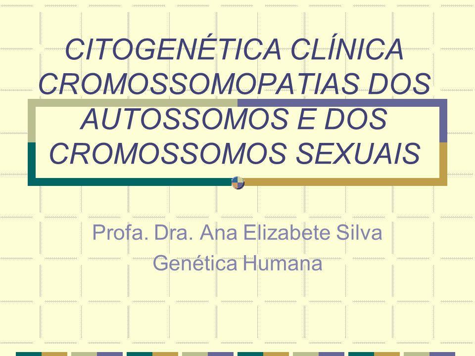 Profa. Dra. Ana Elizabete Silva Genética Humana