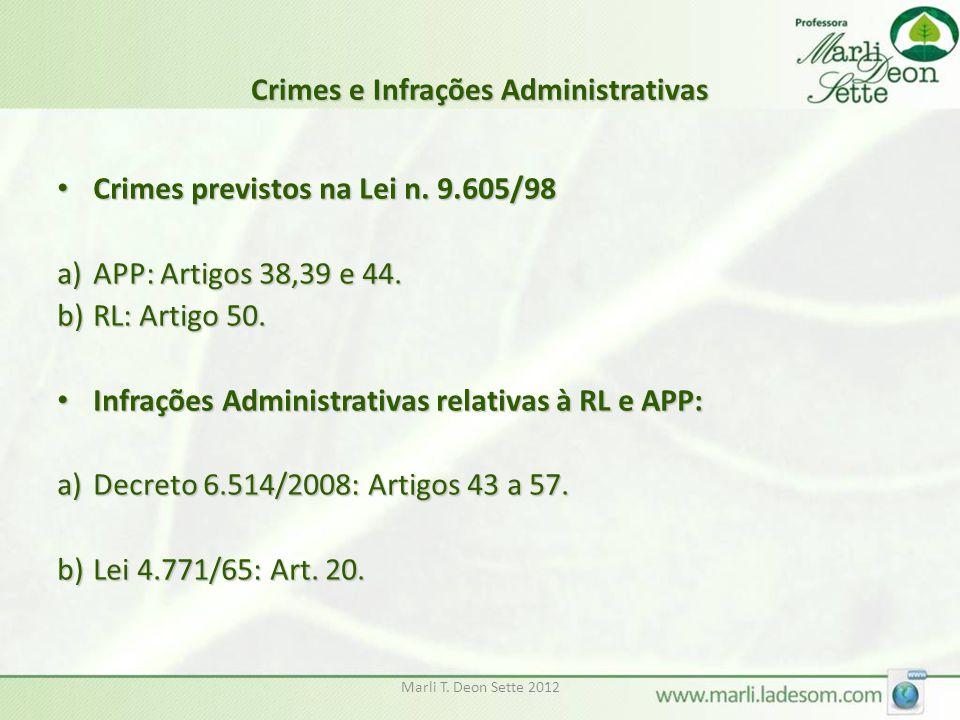 Crimes e Infrações Administrativas