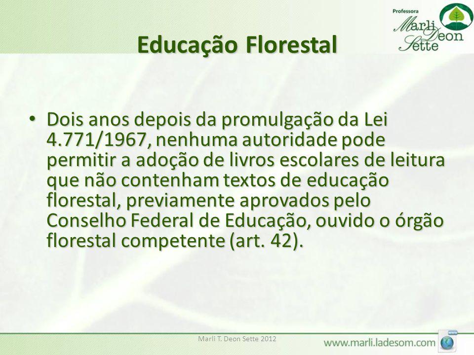 Educação Florestal