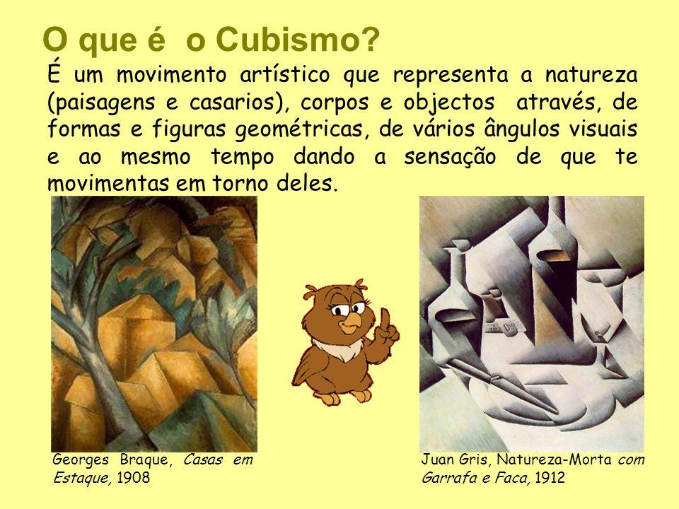 O que é o Cubismo