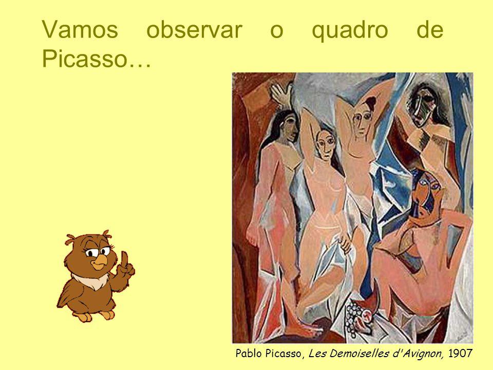 Vamos observar o quadro de Picasso…