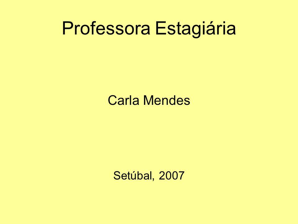 Professora Estagiária