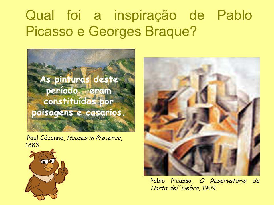 Qual foi a inspiração de Pablo Picasso e Georges Braque