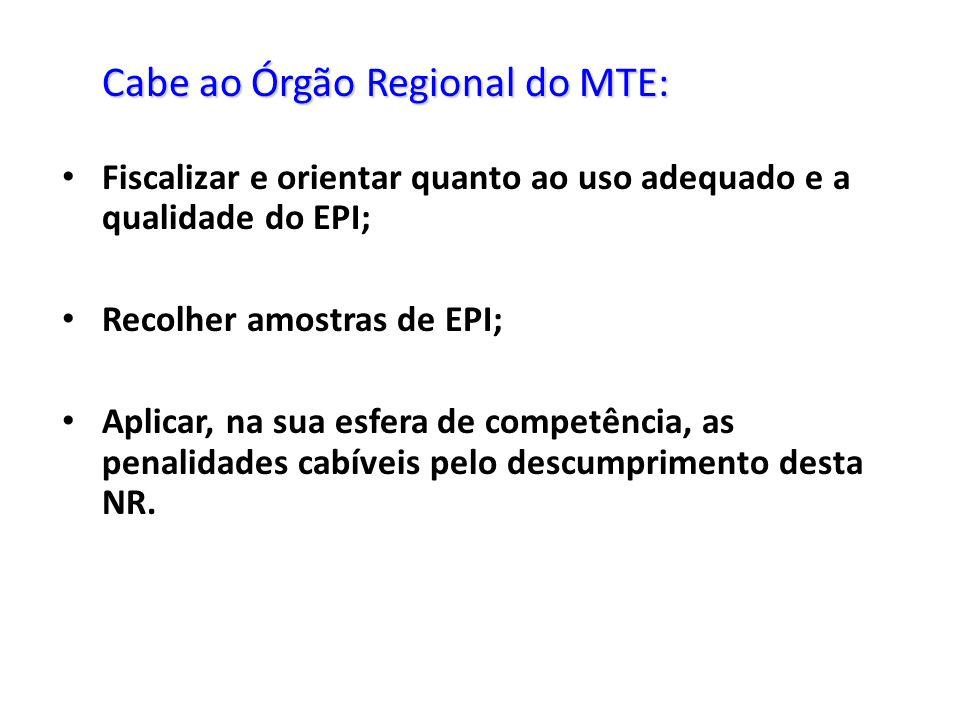 Fiscalizar e orientar quanto ao uso adequado e a qualidade do EPI;