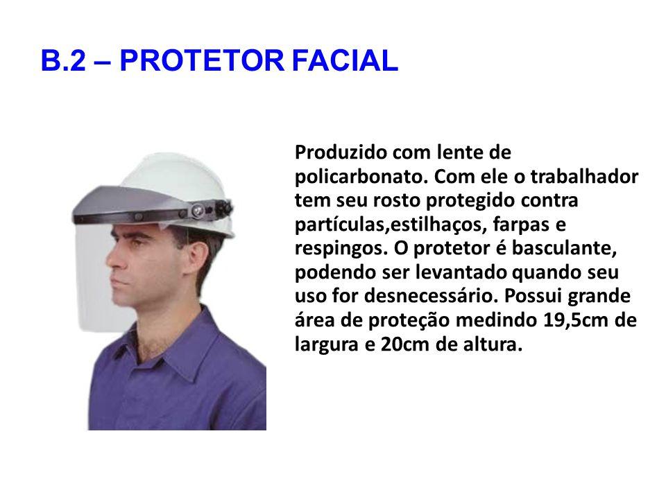 B.2 – PROTETOR FACIAL
