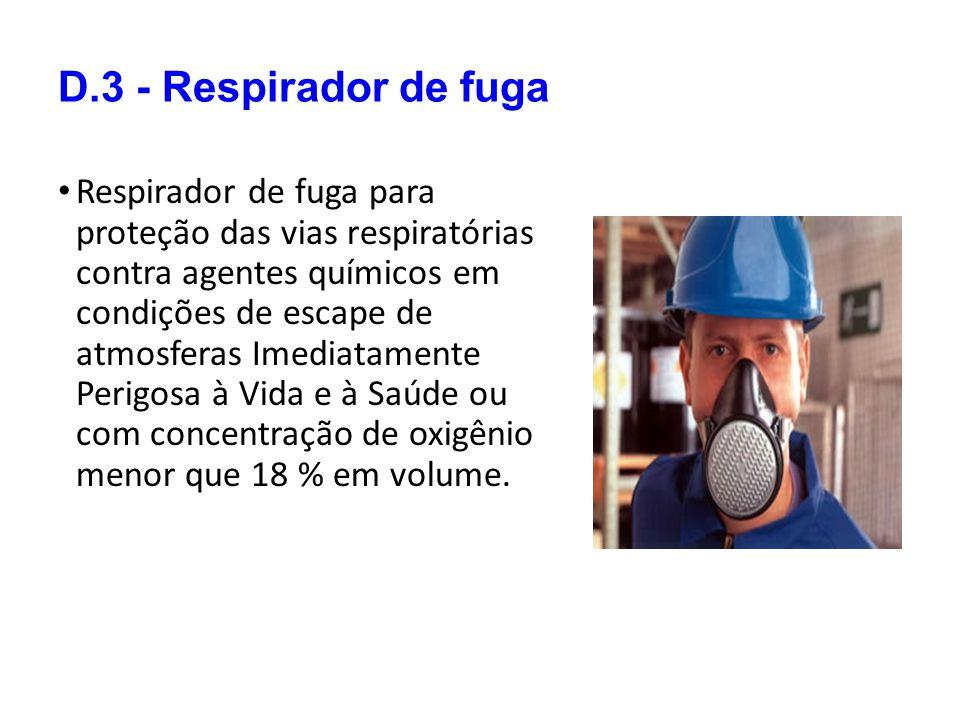 D.3 - Respirador de fuga