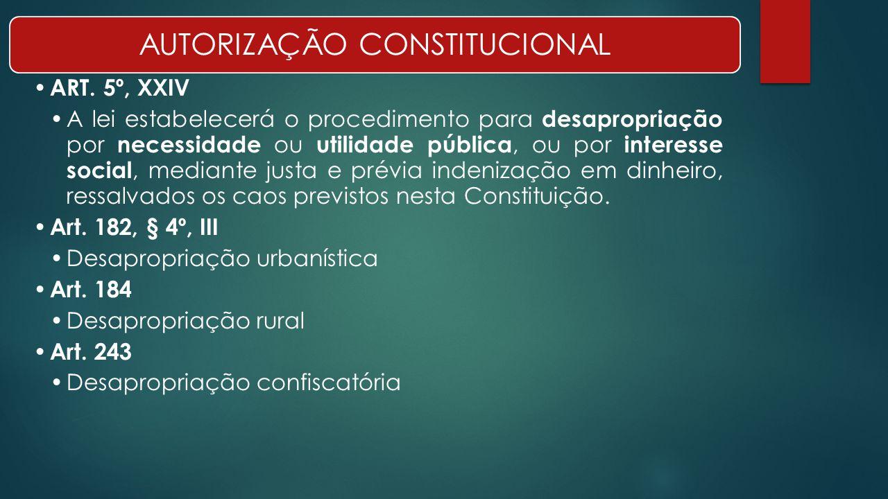 AUTORIZAÇÃO CONSTITUCIONAL