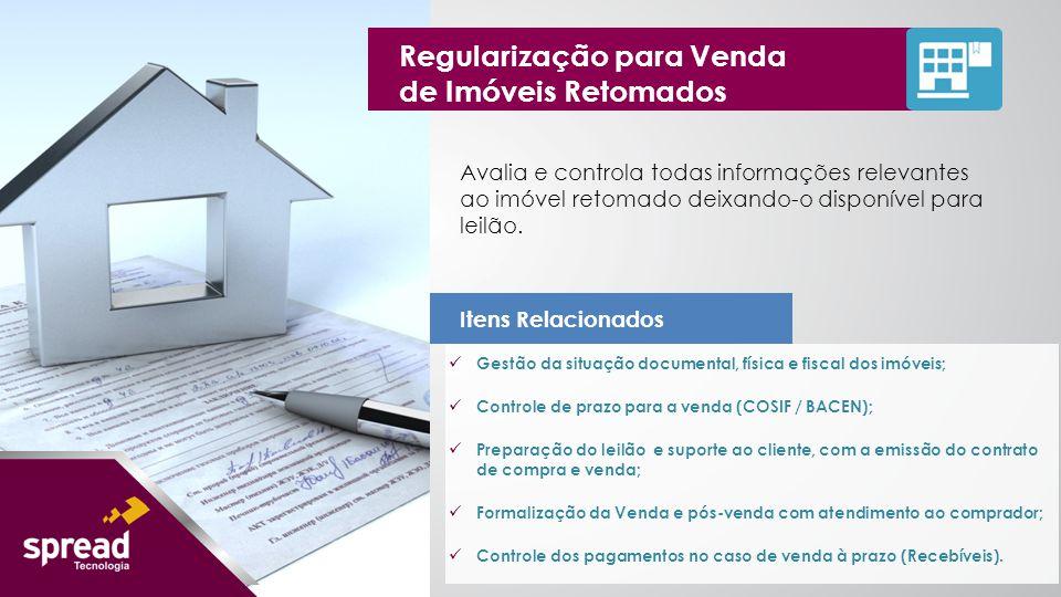Regularização para Venda de Imóveis Retomados