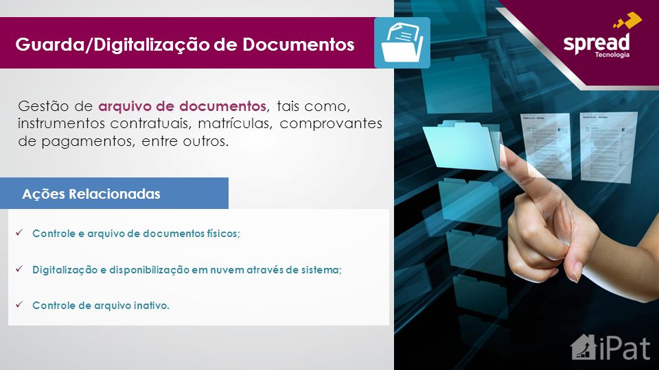 Guarda/Digitalização de Documentos
