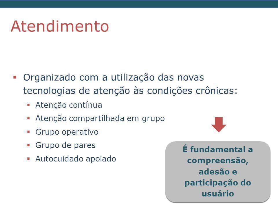 É fundamental a compreensão, adesão e participação do usuário