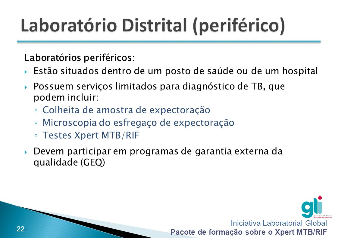 Laboratório Distrital (periférico)