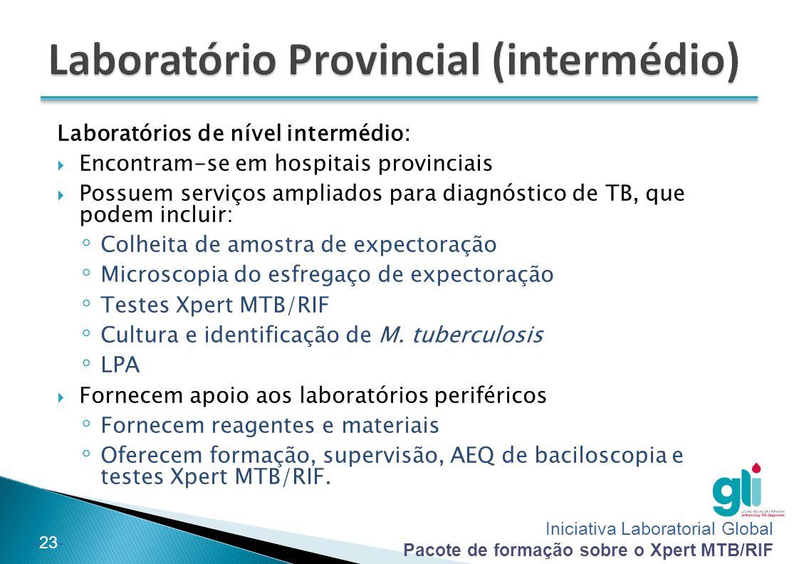 Laboratório Provincial (intermédio)