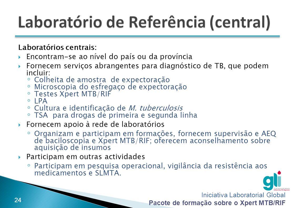 Laboratório de Referência (central)