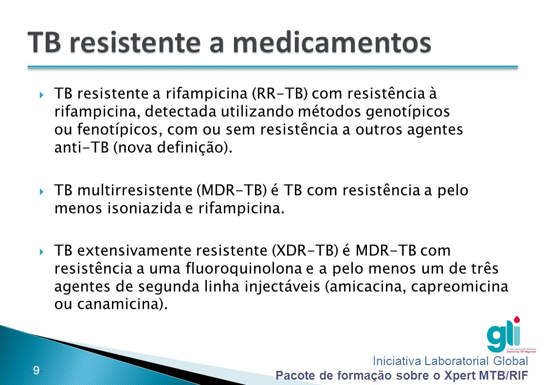 TB resistente a medicamentos