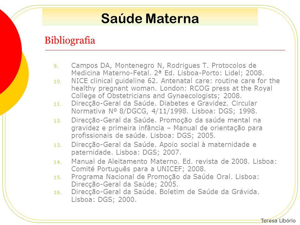 Saúde Materna Bibliografia