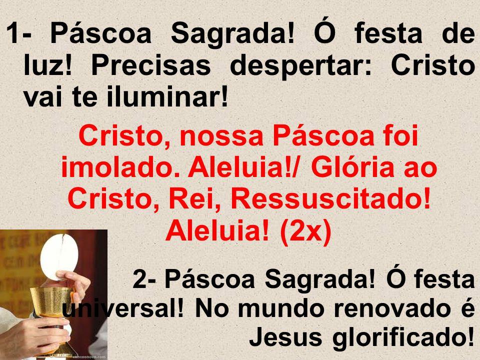1- Páscoa Sagrada. Ó festa de luz