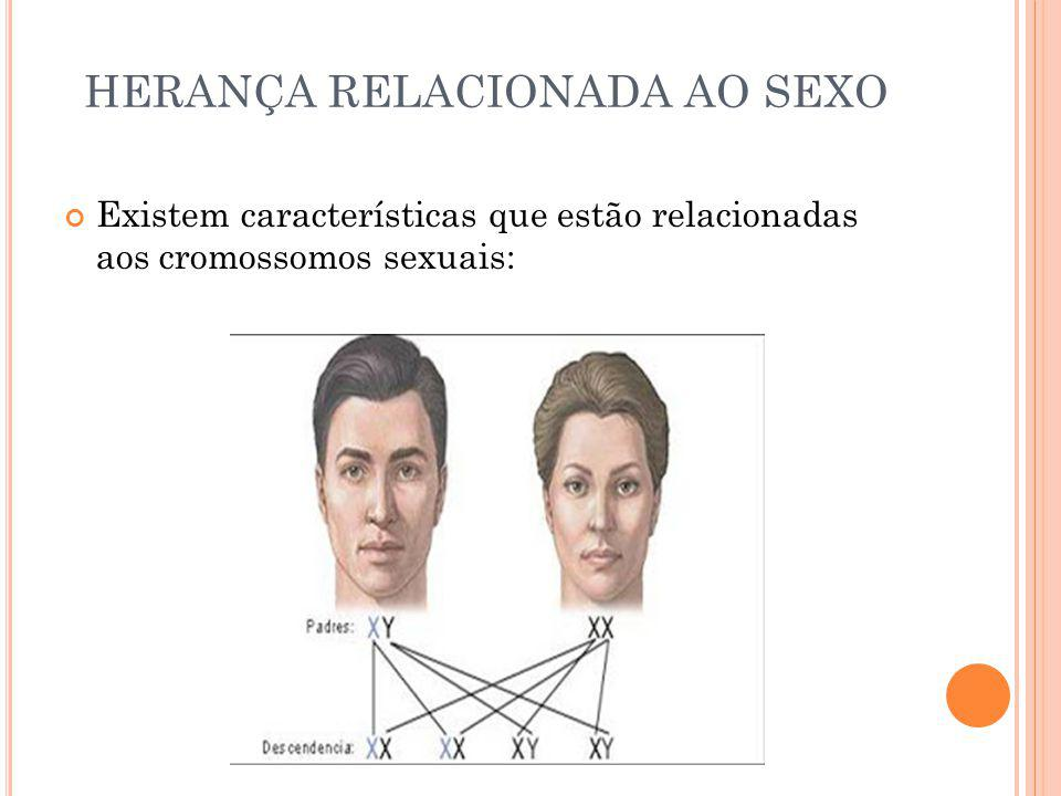 HERANÇA RELACIONADA AO SEXO