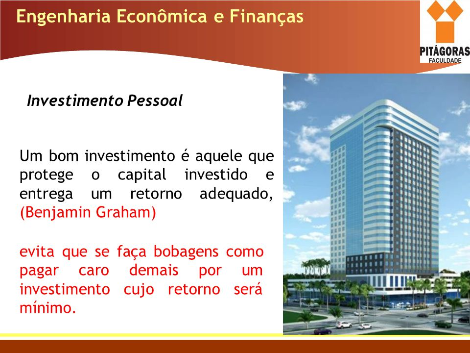 Engenharia Econômica e Finanças