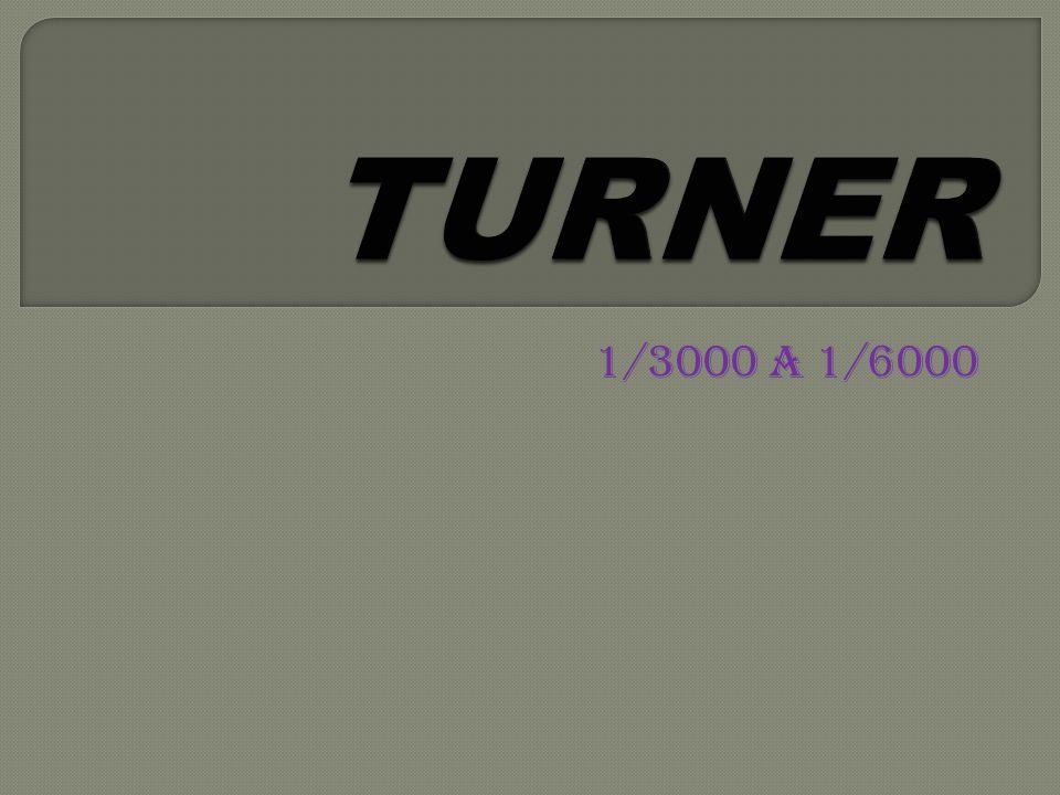 TURNER 1/3000 a 1/6000