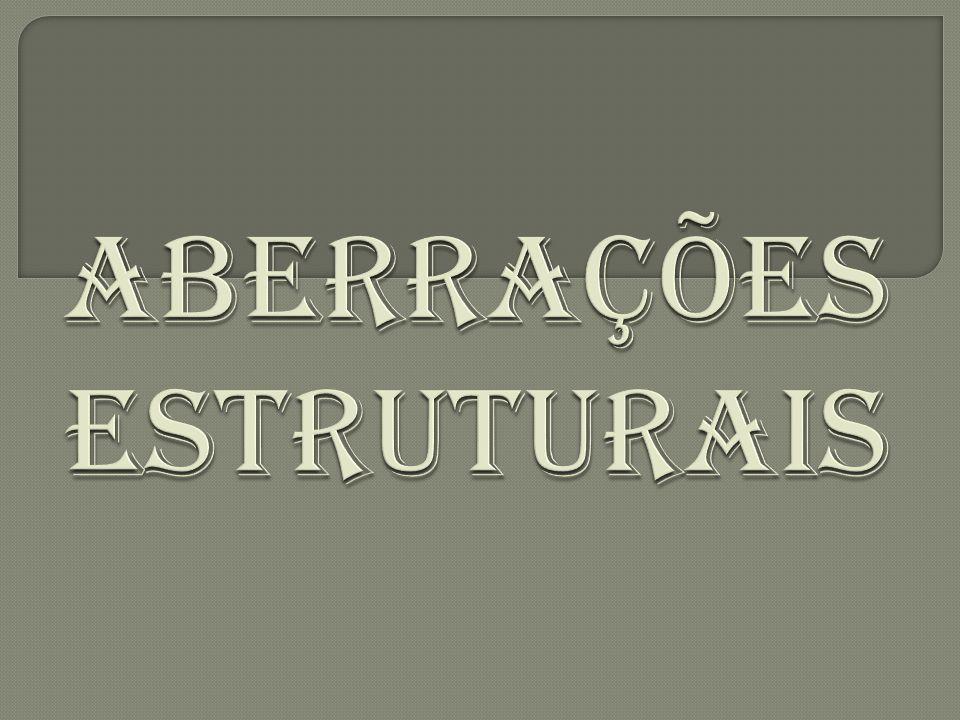 Aberrações estruturais