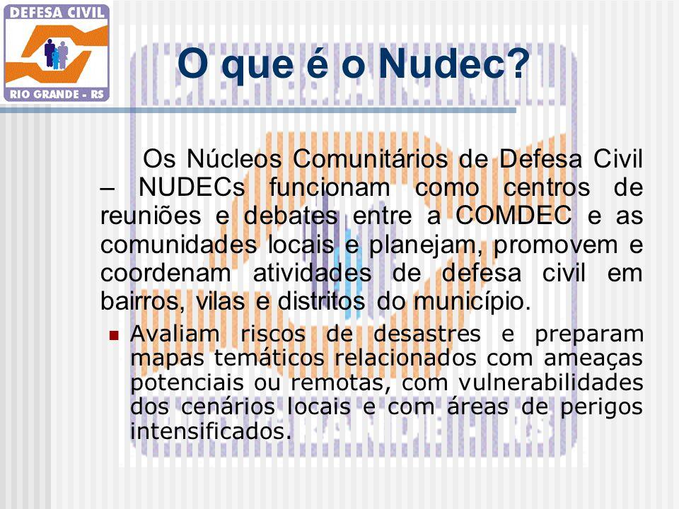O que é o Nudec