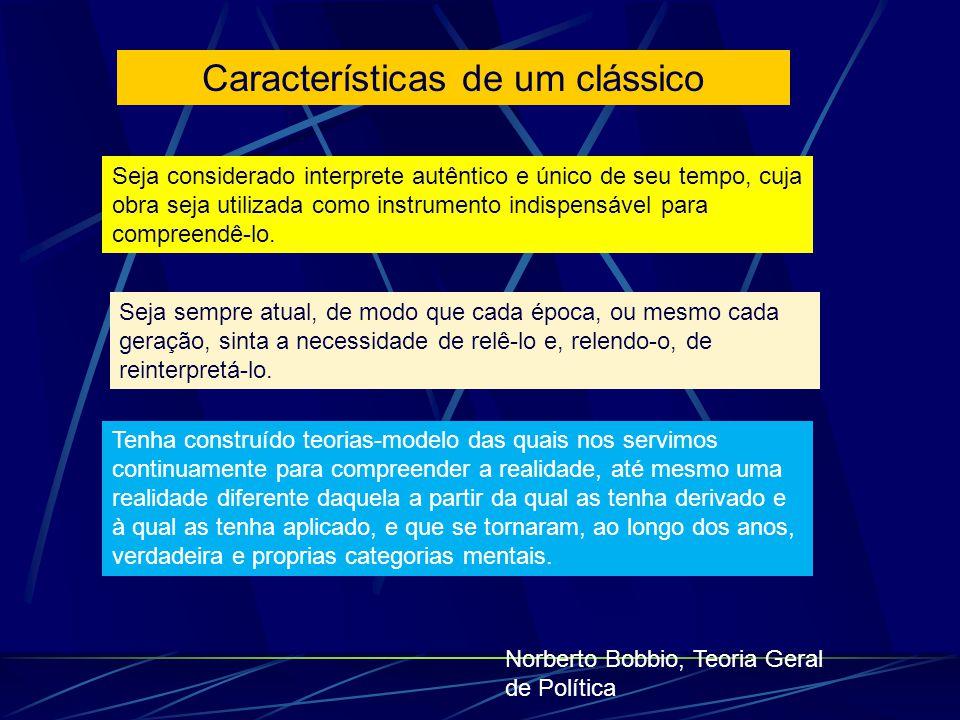 Características de um clássico
