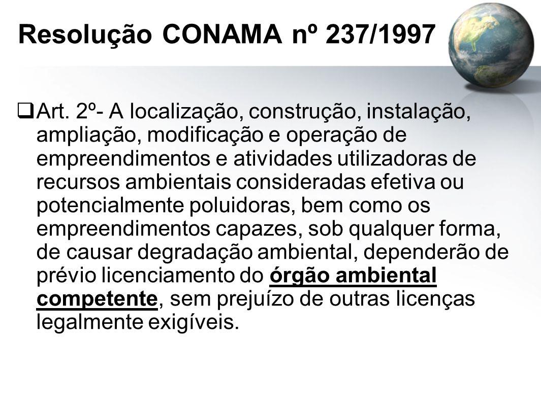 Resolução CONAMA nº 237/1997