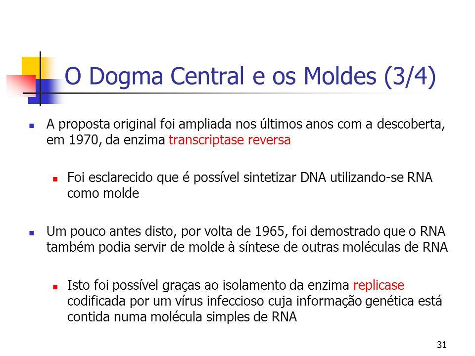 O Dogma Central e os Moldes (3/4)
